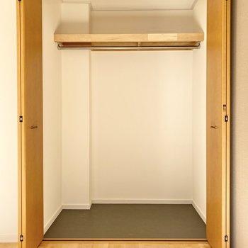 【洋室】クローゼットは大容量!