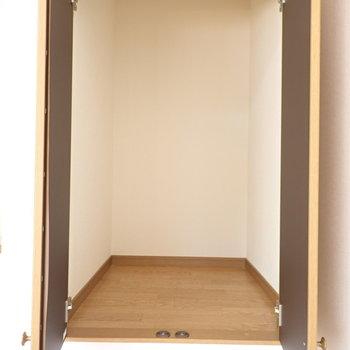 洋室①】軽くてかさばるものを収納するのに◎(※写真は同間取り別部屋のものです)