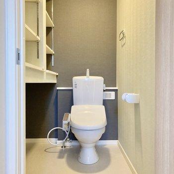 トイレもこの広々とした造り。