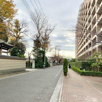 西国立駅まで5分程で着きますが立川駅へも14分程で歩いて行けます。