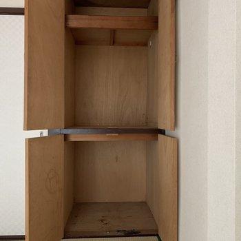 こちらも大容量です◎(※写真は2階の同間取り別部屋のものです)