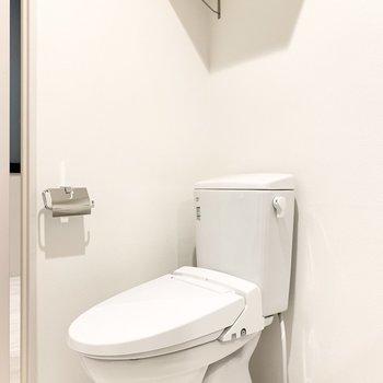 トイレも同室。生活動線がスムーズです