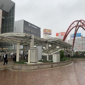 【立川駅】駅周辺は栄えています