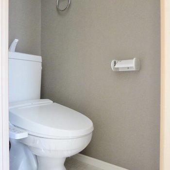 トイレはウォシュレット付きです※写真は前回募集時のものです