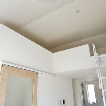 ロフトがある分、天井が高くて開放感があります※写真は前回募集時のものです