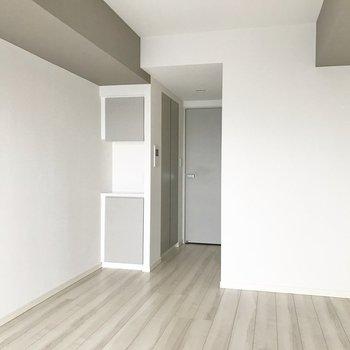 収納を見ていきましょう※写真は4階の反転間取り別部屋のものです