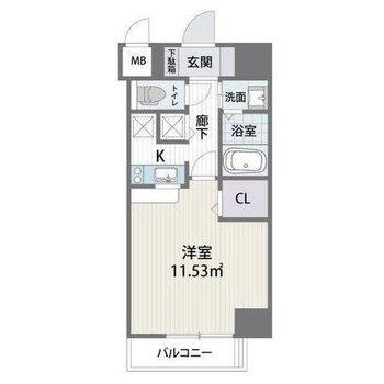 居室はコンパクトですが、贅沢な水回り。