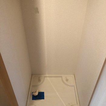 洗濯機は隠してね。(※写真は13階の同間取り別部屋のものです)