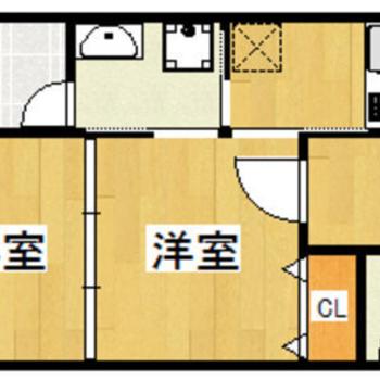 洋室と洋室を3枚の引き戸で仕切るタイプ