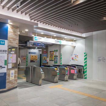 お部屋から北綾瀬駅までは徒歩約3分。千代田線が利用できます。