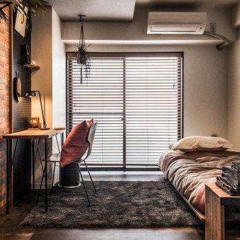 ブルックリンスタイルのお部屋です。※家具・小物はサンプルです