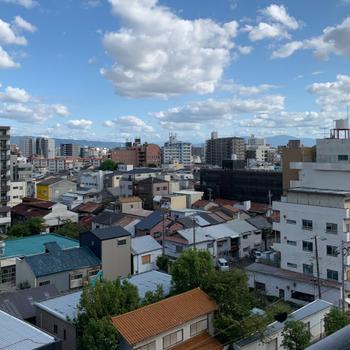 眺望】置くには生駒山も見えます〜!やっほ〜