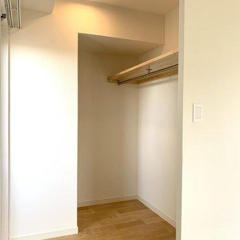 収納は扉なしのオープン式なのでたくさん詰めれそう!