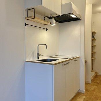 廊下にあるキッチンを見てみましょう。※写真は前回募集時のもの