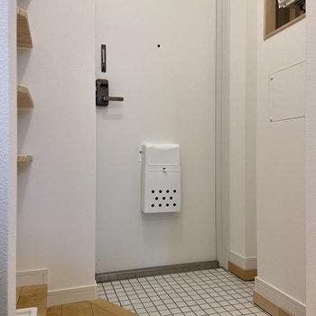 お次は玄関スペースを見てみましょう。※写真は前回募集時のもの