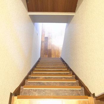 ではまた1階へ。ところで、ここにも取っ手あるのが分かりますか?