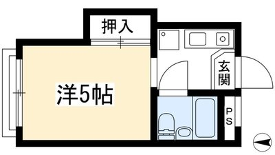 加茂川シティハウスの間取り