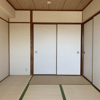 和室⓵】ここは作業場にするのもありかな〜(*写真は別部屋のものになります)