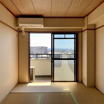 和室⓵】LDKの隣の和室。日当たり良好◎(*写真は別部屋のものになります)