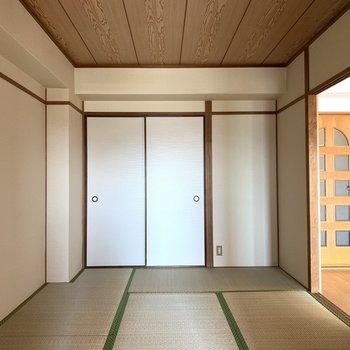 和室⓶】道路に面していなくて静かそうだから、ここは寝室にしたいな(*写真は別部屋のものになります)