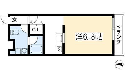 恵比須荘の間取り