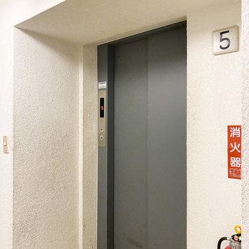 エレベーターは1台です