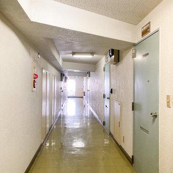 キレイな共用廊下