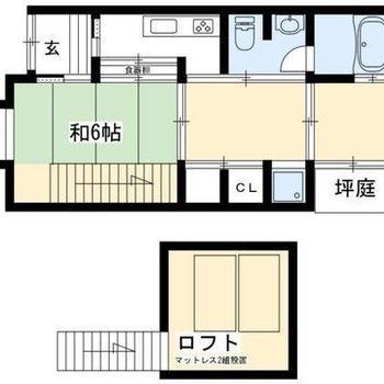 家具、家電付きのお部屋です!