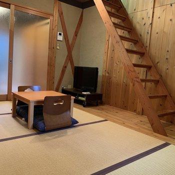 【和室】ナチュラルな雰囲気に和風を掛け合わせると、こんなモダンな空間になるんですね!素敵!