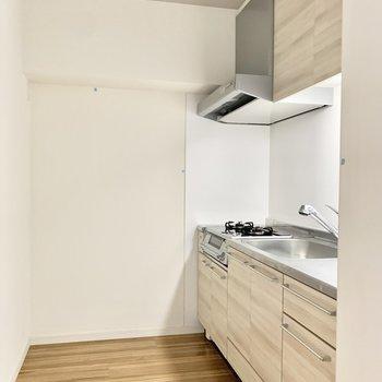 キッチンは2人で楽しくお料理できますね♪(※写真は2階の同間取り別部屋のものです)
