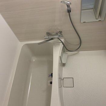 浴室乾燥ができるお風呂場
