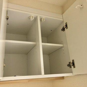 上には棚がありました!洗剤などこちらへ〇