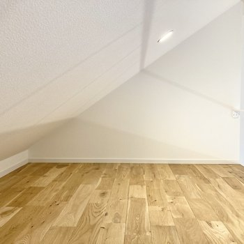 天井は勾配しています。