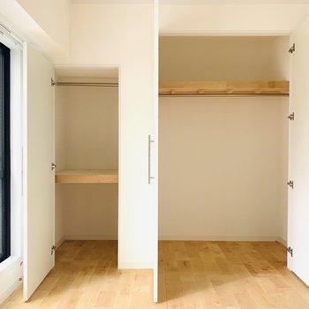 収納も大容量!※同間取り別部屋の写真になります。