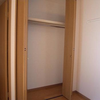 収納力もちゃんとあります※写真は3階の同間取り別部屋のものです