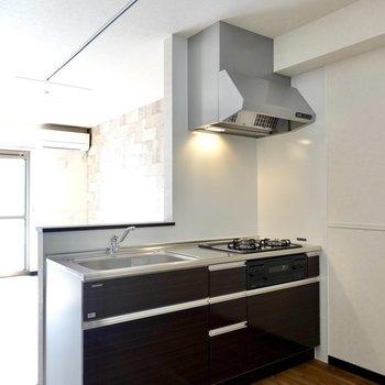 キッチンが大きいのも嬉しいポイント。