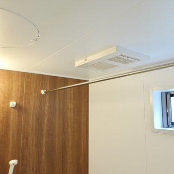窓付きで浴室乾燥機も付いているので家事にも役立つんです。