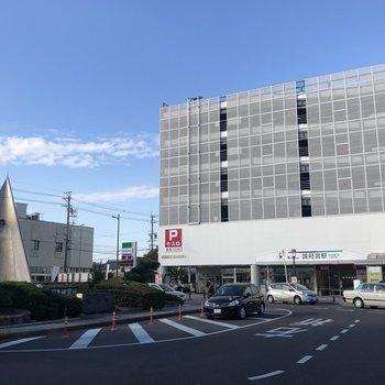 最寄り駅は名鉄名古屋本線の「国府宮」