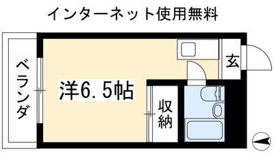 BOX松ヶ崎の間取り