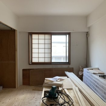 【工事中】小窓もあって空気の入れ替えもできますね◎ ※障子は撤去いたします