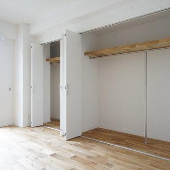 【完成イメージ】たっぷり大容量の収納力!しかもこれ、2部屋どちらにもあるんですよ