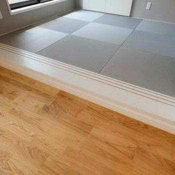 【完成イメージ】さらには畳の小上がりが付いているんです!(※実際のフローリングは白で畳はブラウンになります)