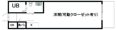 WK TAMATSUKURIの間取り