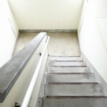 4階まで階段を登って頑張ろう!