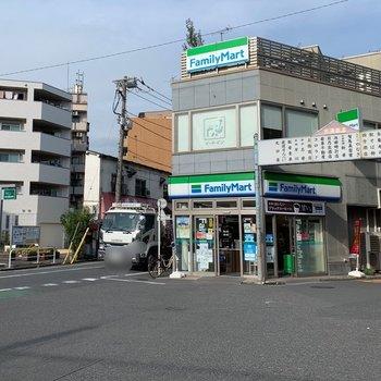 駅前はコンビニや個人経営のお店があり、のどかな雰囲気でした。