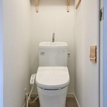 トイレは個室です◯