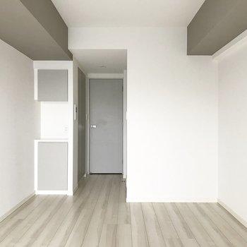 内装も落ち着いていますね※写真は4階の同間取り別部屋のものです