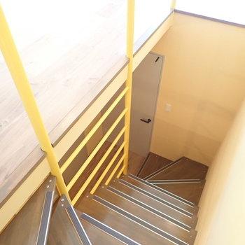 1階へ行きましょう!