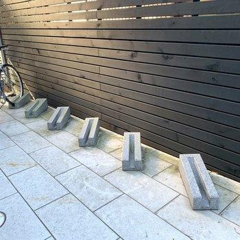 駐輪場付きでお出かけの幅が広がりますね。(空き要確認)