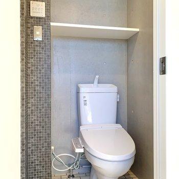 トイレがあります。